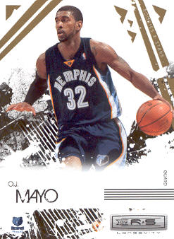 2009-10 Rookies and Stars Longevity #44 O.J. Mayo