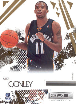 2009-10 Rookies and Stars Longevity #45 Mike Conley