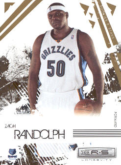 2009-10 Rookies and Stars Longevity #46 Zach Randolph