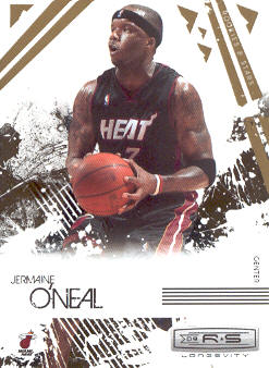 2009-10 Rookies and Stars Longevity #49 Jermaine O'Neal