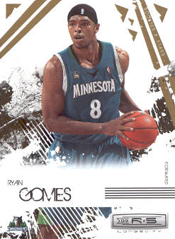 2009-10 Rookies and Stars Longevity #55 Ryan Gomes