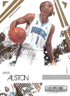 2009-10 Rookies and Stars Longevity #59 Rafer Alston