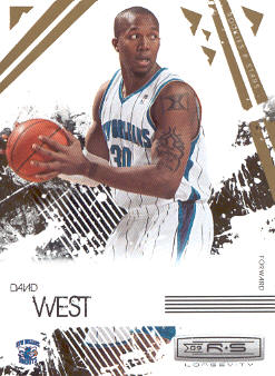 2009-10 Rookies and Stars Longevity #61 David West