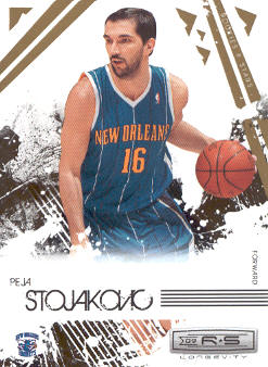 2009-10 Rookies and Stars Longevity #62 Peja Stojakovic
