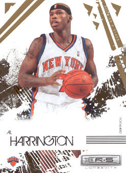 2009-10 Rookies and Stars Longevity #63 Al Harrington