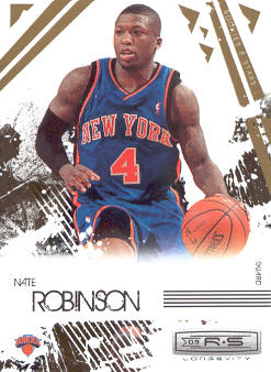2009-10 Rookies and Stars Longevity #64 Nate Robinson