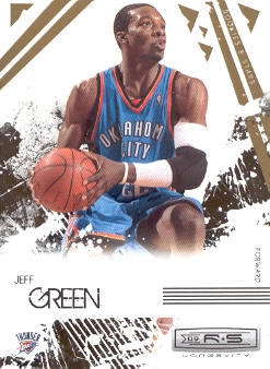 2009-10 Rookies and Stars Longevity #67 Jeff Green