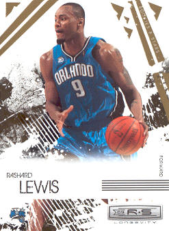 2009-10 Rookies and Stars Longevity #70 Rashard Lewis