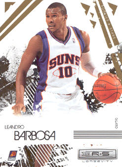 2009-10 Rookies and Stars Longevity #78 Leandro Barbosa