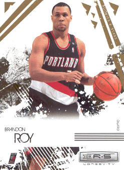 2009-10 Rookies and Stars Longevity #80 Brandon Roy