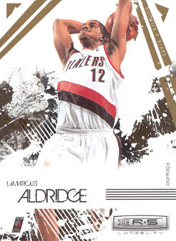 2009-10 Rookies and Stars Longevity #81 LaMarcus Aldridge