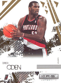 2009-10 Rookies and Stars Longevity #82 Greg Oden