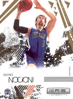 2009-10 Rookies and Stars Longevity #84 Andres Nocioni