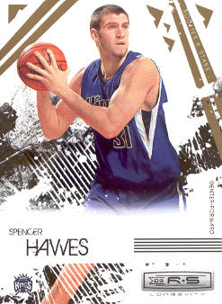 2009-10 Rookies and Stars Longevity #85 Spencer Hawes