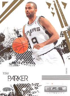 2009-10 Rookies and Stars Longevity #86 Tony Parker