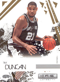 2009-10 Rookies and Stars Longevity #87 Tim Duncan