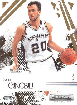 2009-10 Rookies and Stars Longevity #88 Manu Ginobili