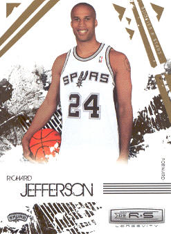 2009-10 Rookies and Stars Longevity #89 Richard Jefferson