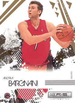 2009-10 Rookies and Stars Longevity #92 Andrea Bargnani