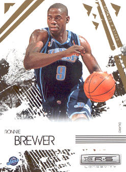 2009-10 Rookies and Stars Longevity #96 Ronnie Brewer