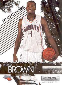 2009-10 Rookies and Stars Longevity #119 Derrick Brown RC