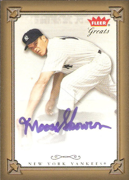 2004 Greats of the Game Autographs #MSK Moose Skowron G1