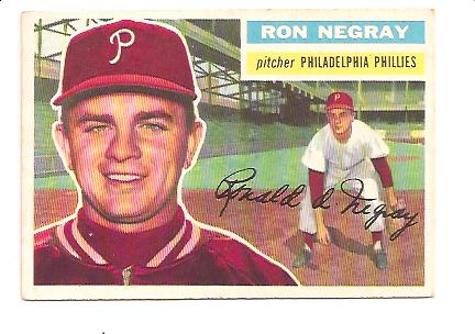 1956 Topps #7A Ron Negray GB