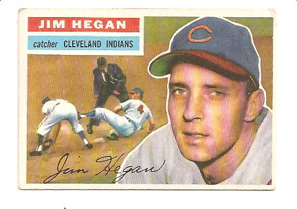 1956 Topps #48 Jim Hegan