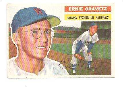 1956 Topps #51 Ernie Oravetz RC