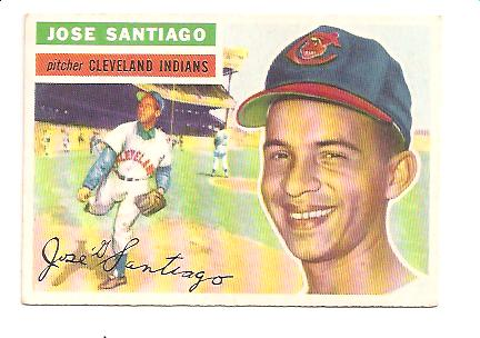 1956 Topps #59A Jose Santiago GB