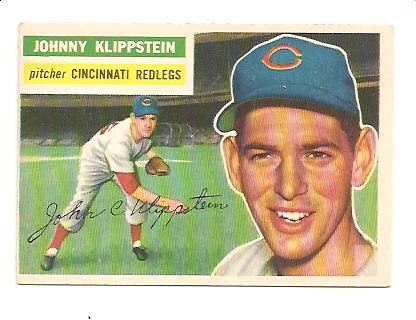 1956 Topps #249 Johnny Klippstein
