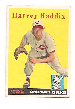 1958 Topps #118 Harvey Haddix