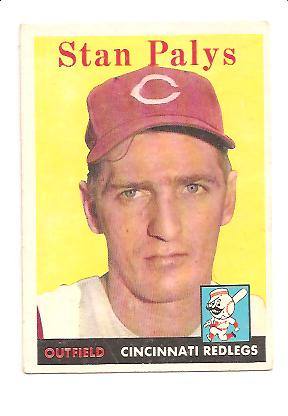 1958 Topps #126 Stan Palys RC