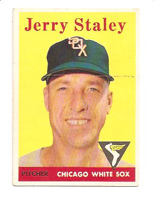 1958 Topps #412 Gerry Staley