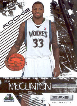 2009-10 Rookies and Stars Longevity #124 Jack McClinton RC