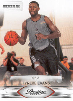 2009-10 Prestige #154 Tyreke Evans RC