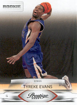 2009-10 Prestige #204 Tyreke Evans RC