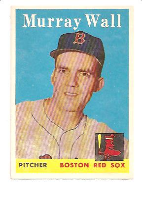 1958 Topps #410 Murray Wall