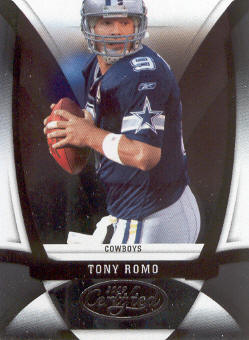 2009 Certified #36 Tony Romo