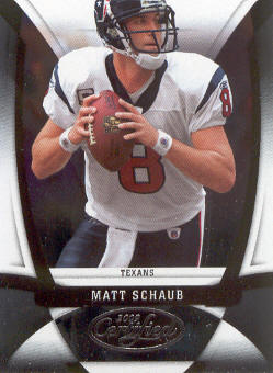 2009 Certified #50 Matt Schaub