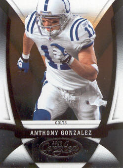 2009 Certified #53 Anthony Gonzalez