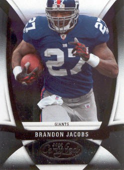 2009 Certified #81 Brandon Jacobs