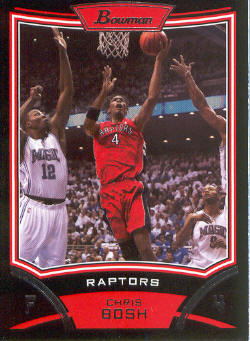 2008-09 Bowman #4 Chris Bosh