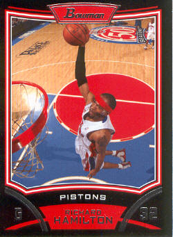 2008-09 Bowman #7 Richard Hamilton