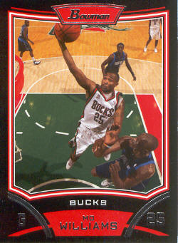2008-09 Bowman #43 Mo Williams