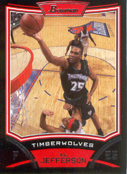 2008-09 Bowman #44 Al Jefferson