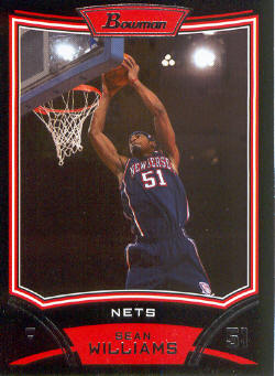 2008-09 Bowman #53 Sean Williams