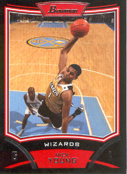 2008-09 Bowman #61 Nick Young