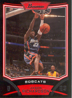 2008-09 Bowman #63 Jason Richardson