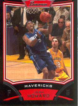 2008-09 Bowman #72 Josh Howard